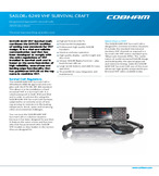 SAILOR 6249 VHF Survival Craft