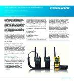 SAILOR SP3500 VHF PORTABLES